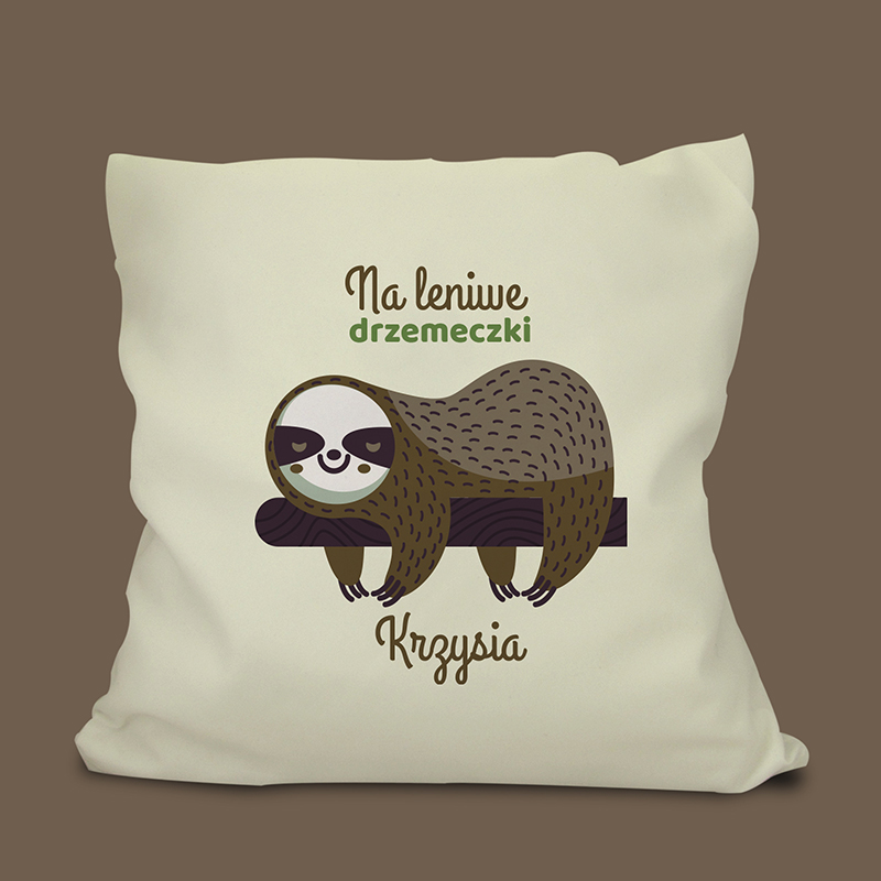 Poduszka leniwiec