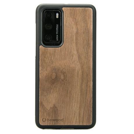 Drewniane Etui Huawei P40 ORZECH AMERYKAŃSKI
