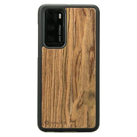 Drewniane Etui Huawei P40 PALISANDER