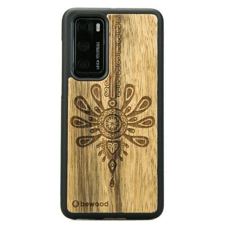 Drewniane Etui Huawei P40 PARZENICA LIMBA