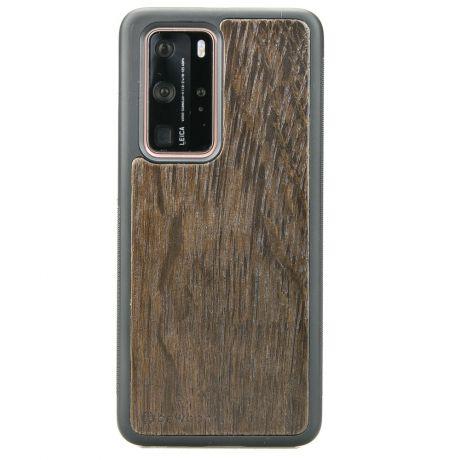Drewniane Etui Huawei P40 Pro DĄB WĘDZONY