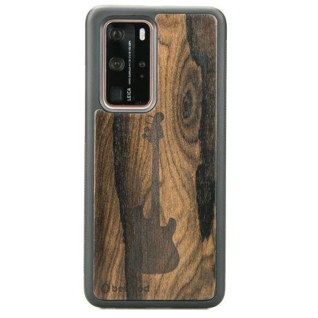 Drewniane Etui Huawei P40 Pro GITARA ZIRICOTE
