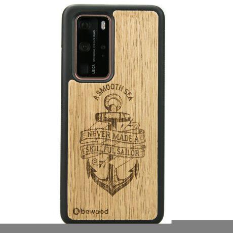 Drewniane Etui Huawei P40 Pro KOTWICA DĄB
