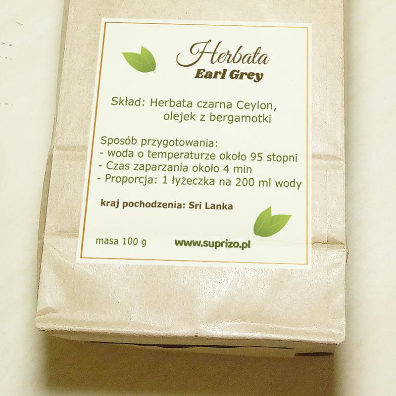 Zestaw herbaciany dla fanki zumby
