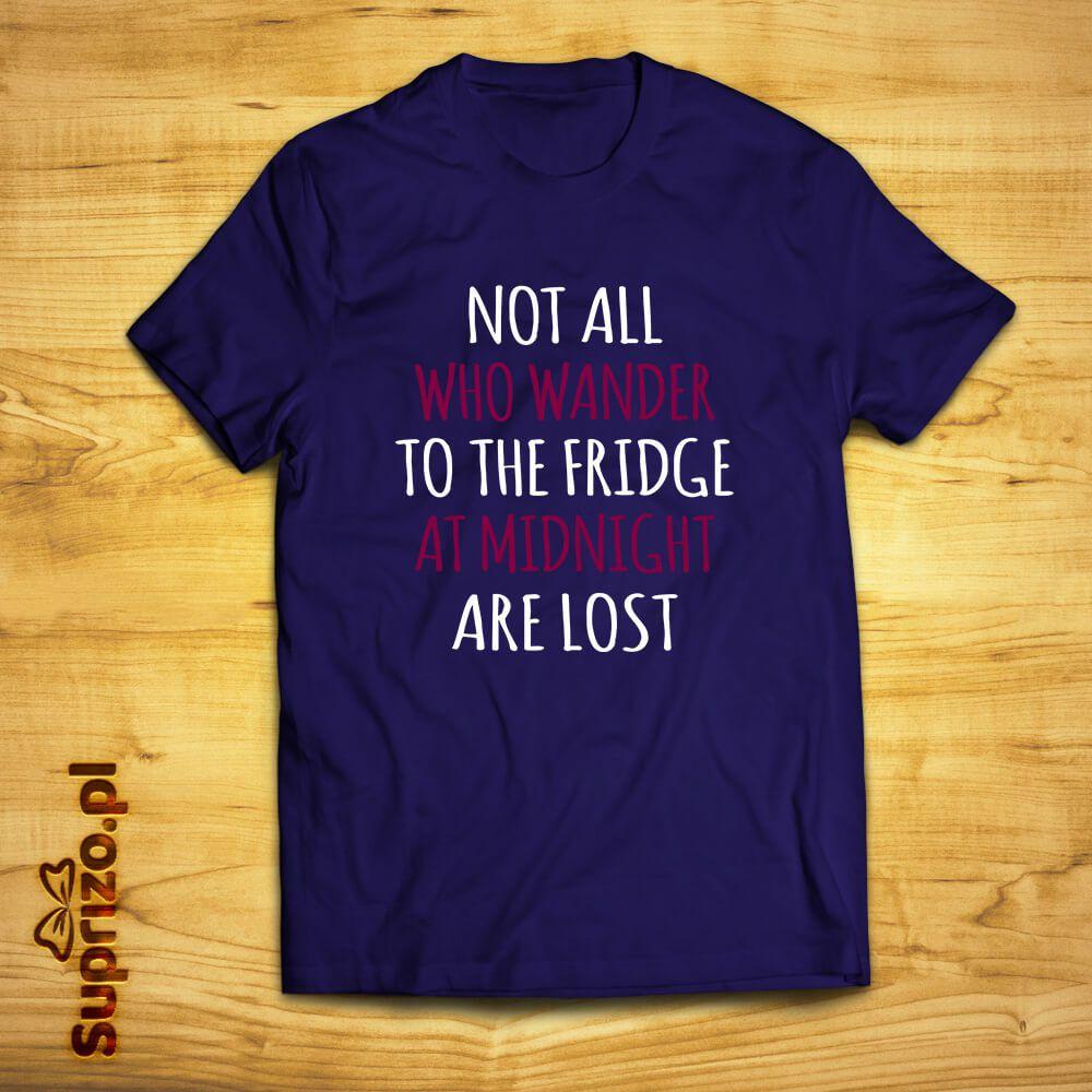 Koszulka z dowcipnym nadrukiem dla lubiących podjadać