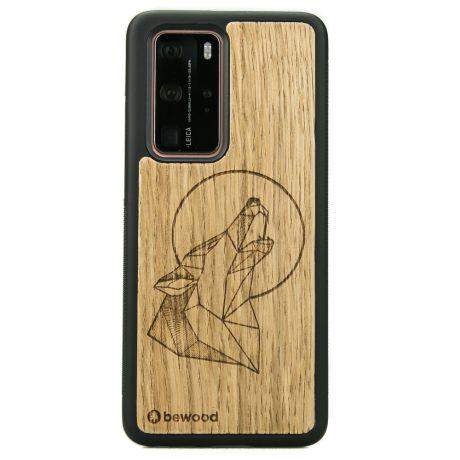 Drewniane Etui Huawei P40 Pro WILK DĄB