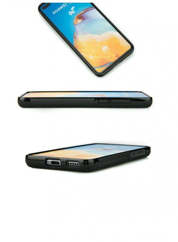 Drewniane Etui Huawei P40 WILK IMBUIA