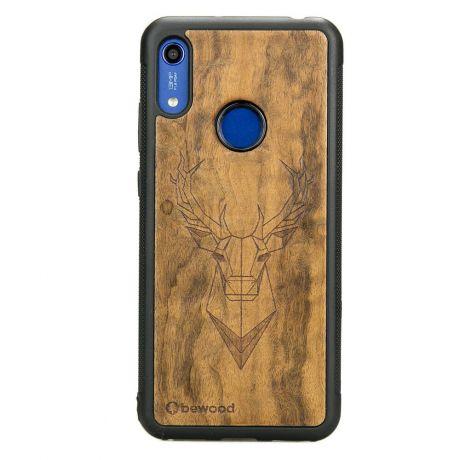 Drewniane Etui Huawei Y6s JELEŃ IMBUIA