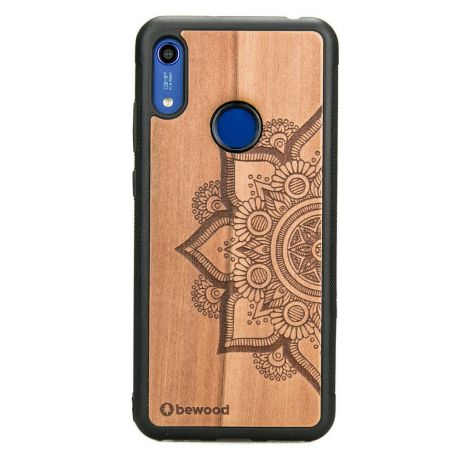 Drewniane Etui Huawei Y6s MANDALA JABŁOŃ