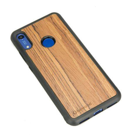 Drewniane Etui Huawei Y6s OLIWKA