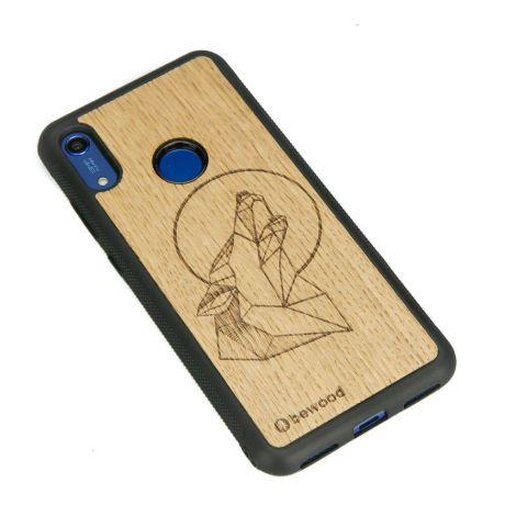 Drewniane Etui Huawei Y6s WILK DĄB