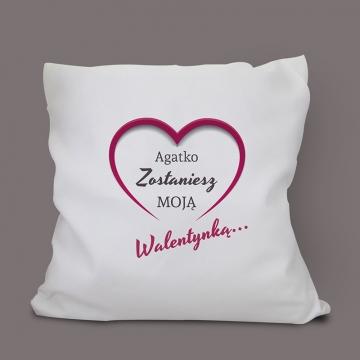 Poduszka na Walentynki dla dziewczyny
