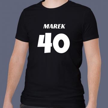 Koszulka na 40 urodziny męska