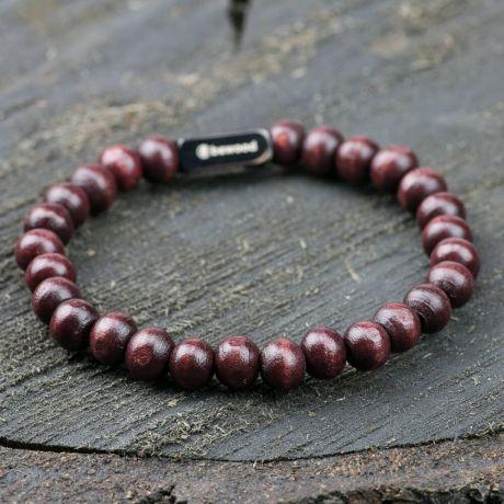 Bransoletka z koralików - Bewood Beads - Cherry