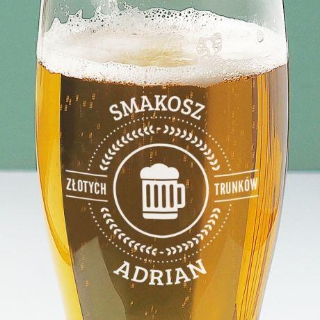 Personalizowana szklanka do piwa