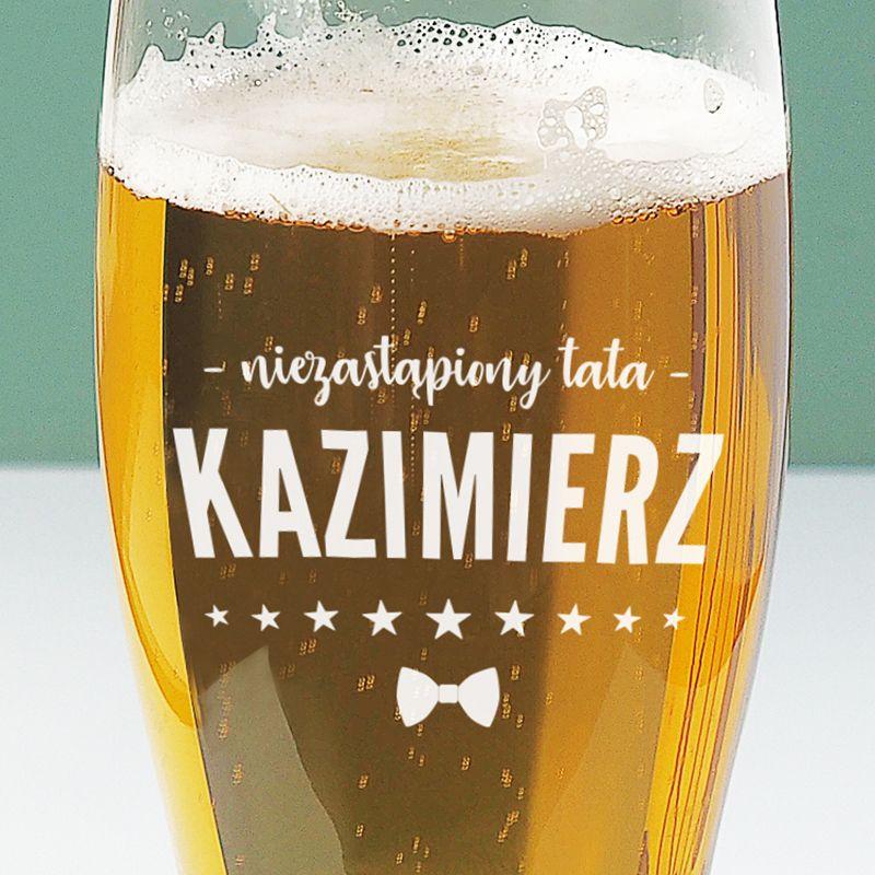 Szklanka do piwa na Dzień Ojca