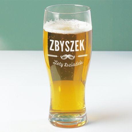 Szklanka do piwa dla dziadka