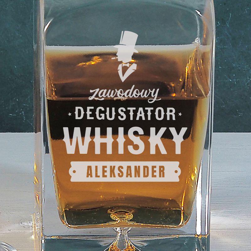 Ekskluzywna karafka do whisky