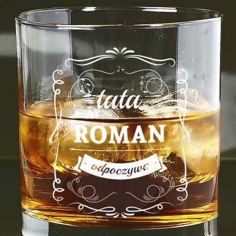 Szklanka do whisky dla taty
