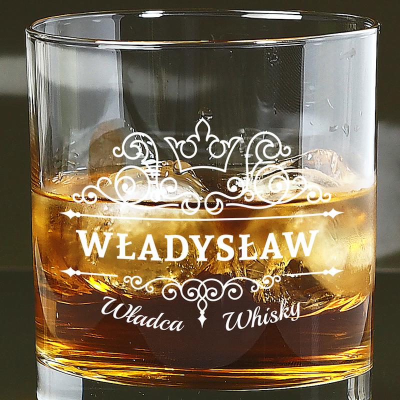 Szklanka do whisky z imieniem