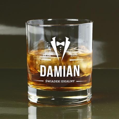 Szklanka do whisky dla świadka