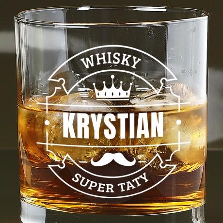 Szklanka do whisky na Dzień Ojca