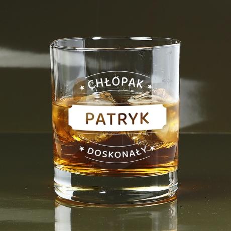 Szklanka do whisky na Dzień Chłopaka