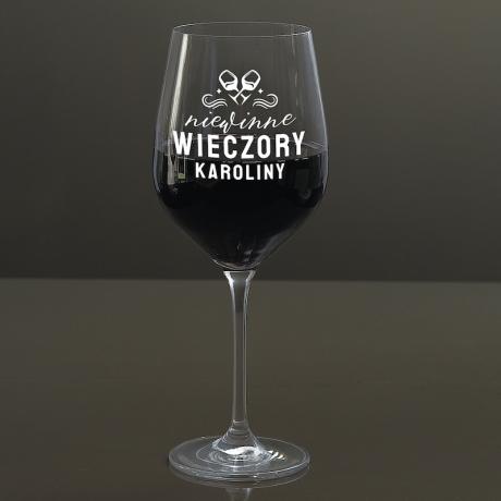 Kieliszek do wina na prezent