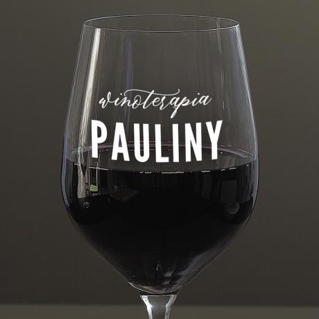 Personalizowany kieliszek do wina