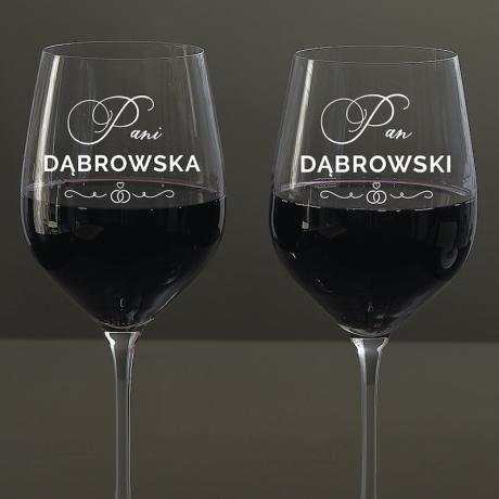 Kieliszki do wina dla dwojga