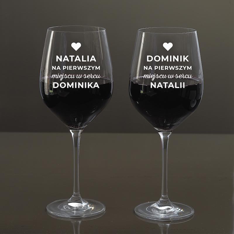 Ekskluzywne kieliszki do wina