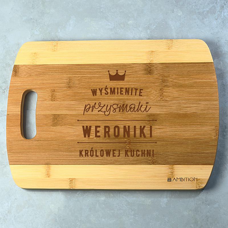 Deska do krojenia personalizowana