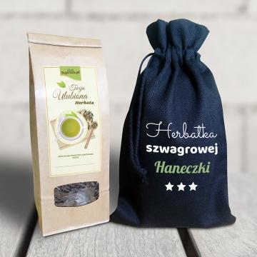 Zestaw herbaciany dla szwagierki