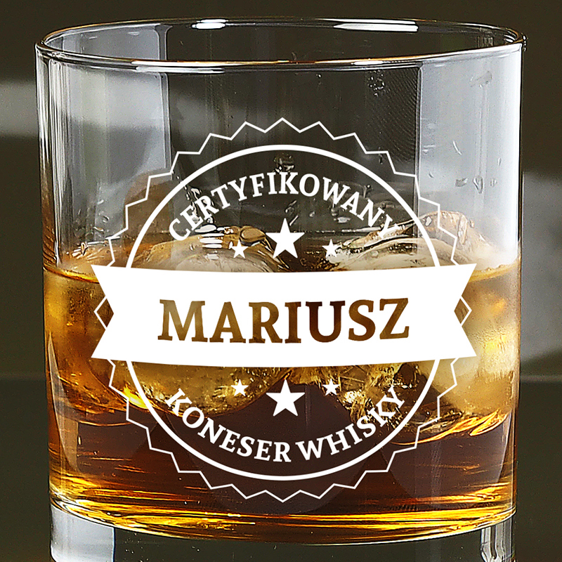 Szklanka do whisky prezent
