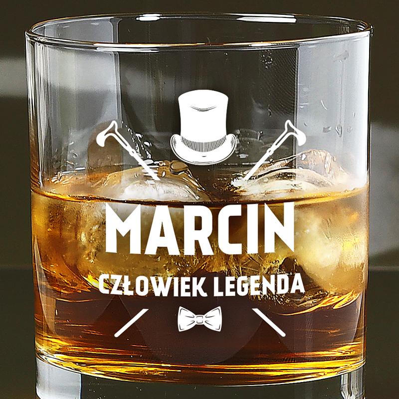 Oryginalna szklanka do whisky