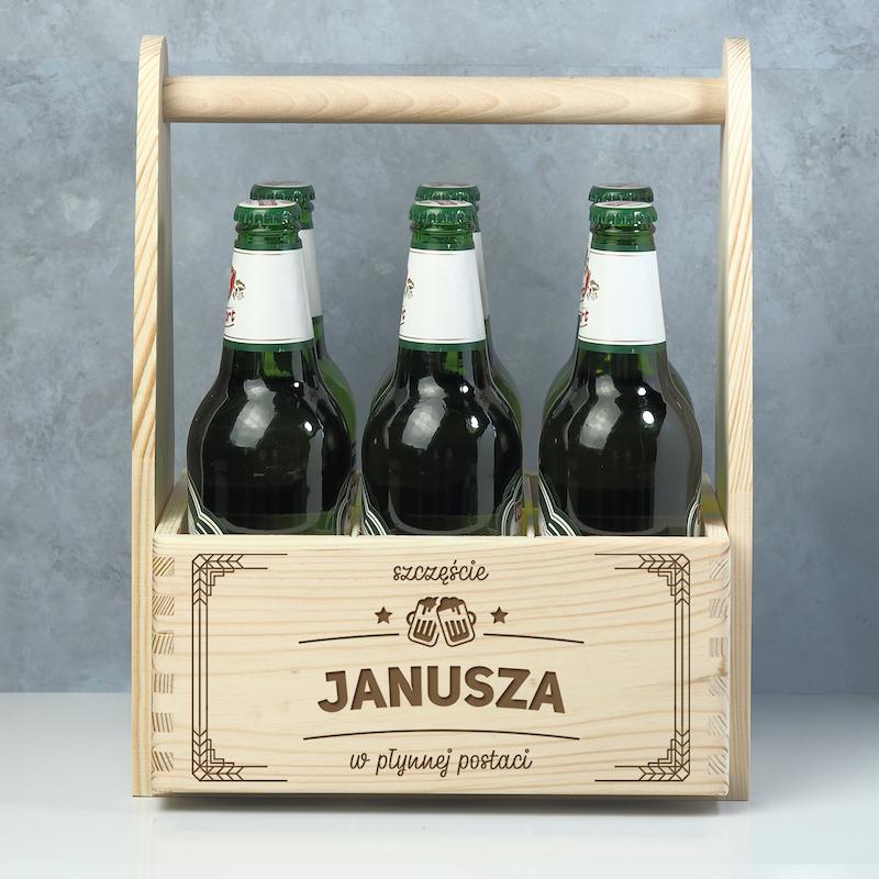 Nosidło na piwo z grawerem