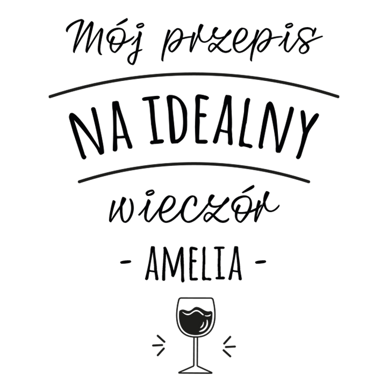 Karafka do wina na prezent