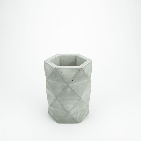 Doniczka Betonowa Hexagon Tall