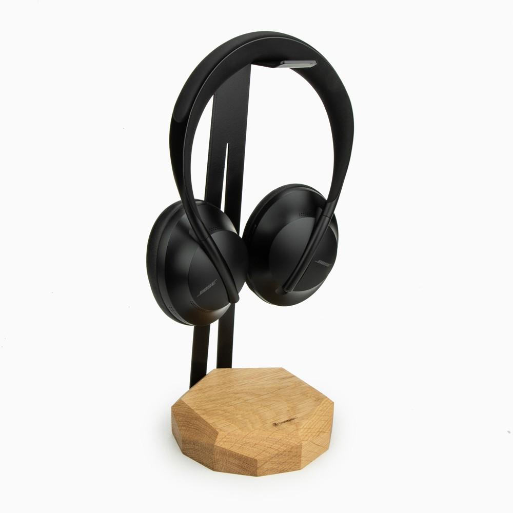 Stojak na słuchawki Geometryczny Dąb