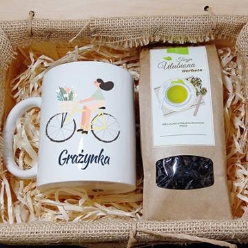 Zestaw herbaciany dla kobiety