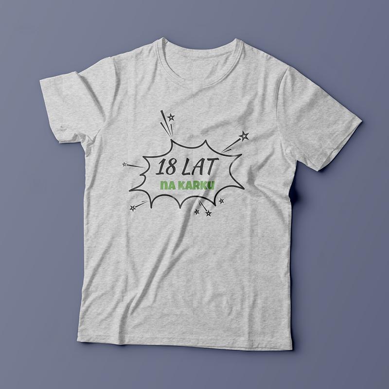 Koszulka na 18 urodziny