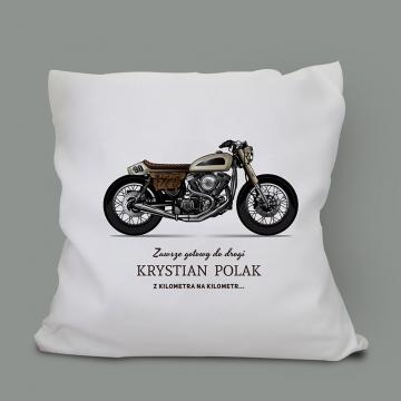 Poduszka z nadrukiem Motocykl