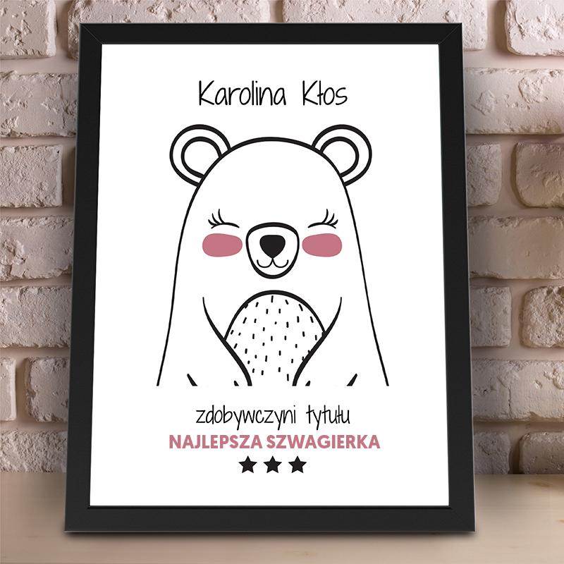 Plakat dla szwagierki