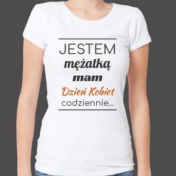 Koszulka z nadrukiem dla żony