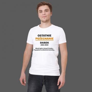 Koszulka na wieczór kawalerski