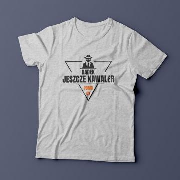 T-shirt na wieczór kawalerski