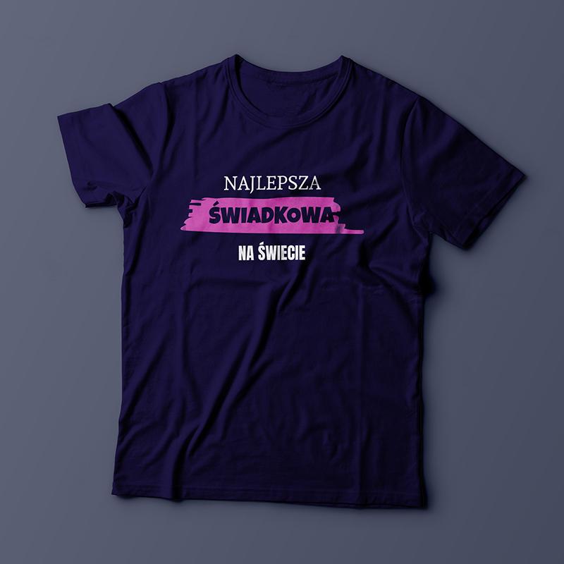 Koszulka dla świadkowej