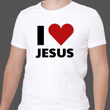 "Koszulka ""I love Jesus"""