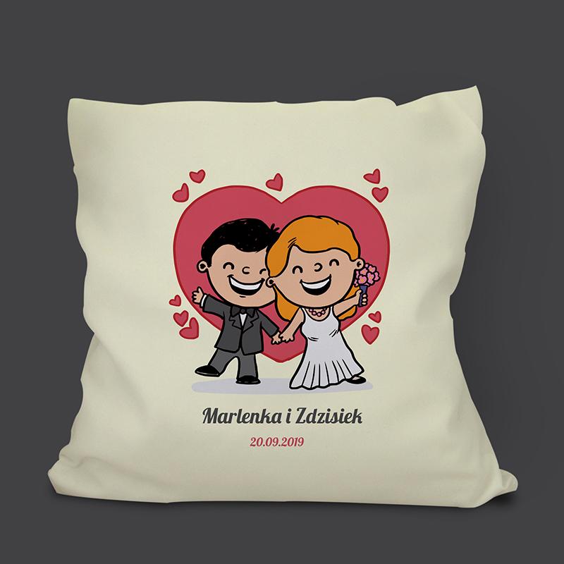 Poduszka na ślub