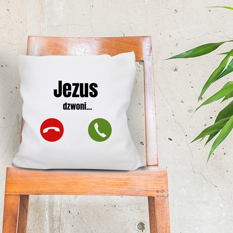 Poduszka Jezus dzwoni...